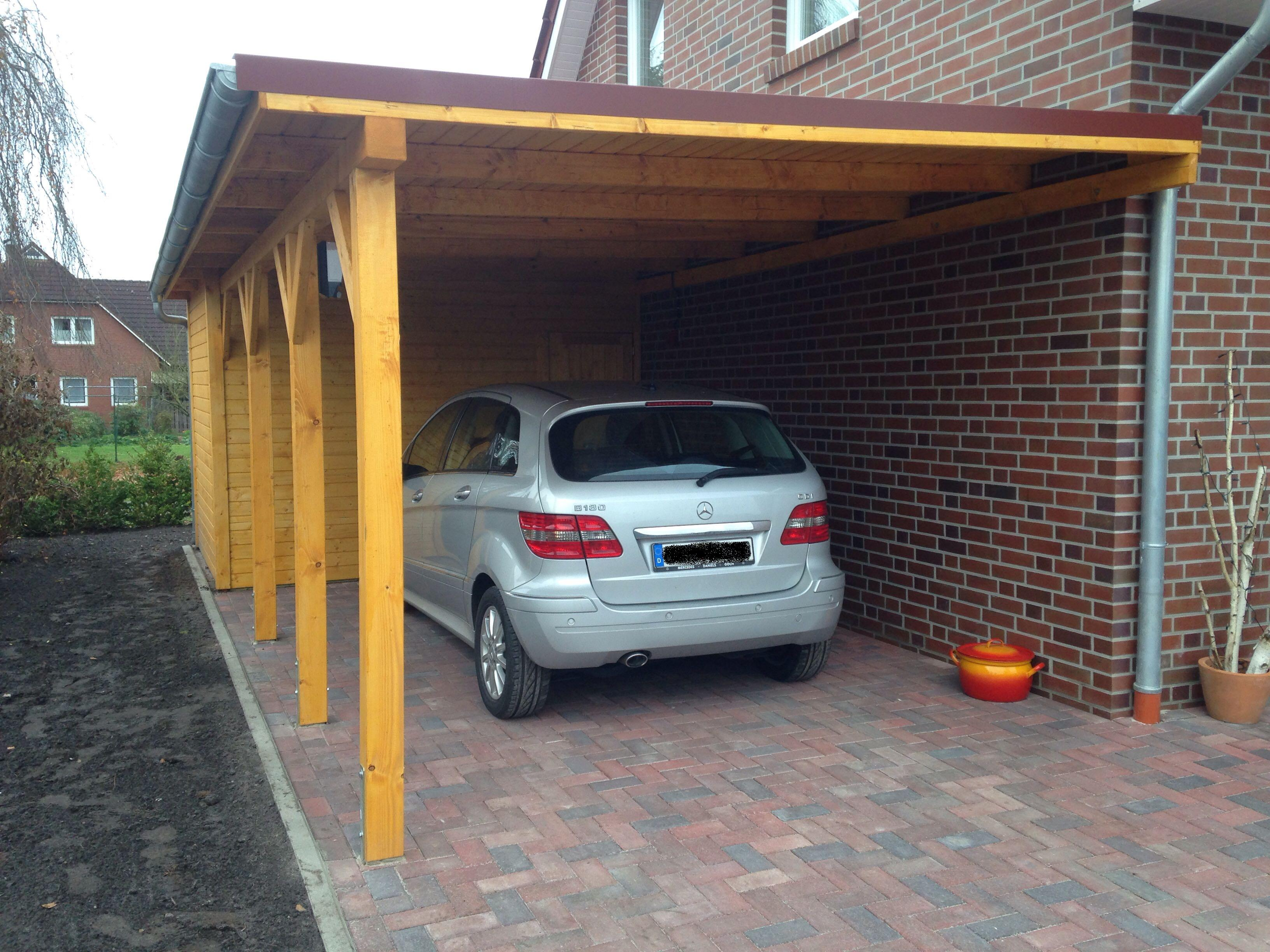 carport 3 5 x 9 1pkw tischlerei baumann. Black Bedroom Furniture Sets. Home Design Ideas